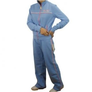 Womens Rocawear baby blue track suit set. 100% authentic