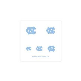 NORTH CAROLINA TAR HEELS OFFICIAL LOGO FINGERNAIL TATTOOS