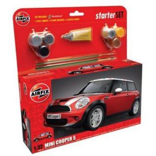 AIRFIX   BMW Mini Cooper S   Starter set   Nombre de pièces  73
