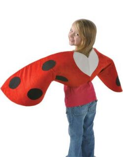 Child Costume Accessory Red Lady Bug Wings Clothing