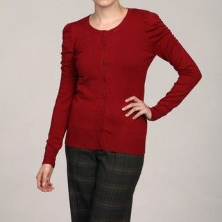 Thea by Chesea & Theodore Womens Crew Cardigan FINAL SALE