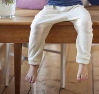 Wool & Silk Long John Pants Clothing