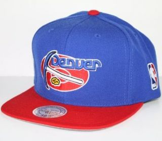 Mitchell & Ness Denver Nuggets Royal Blue Red Two Tone