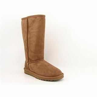 Ugg Australia Girls Classic Tall Regular Suede Boots (Size 13