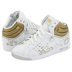 Red by Marc Ecko Phierce White/Silver/Gold Athletic