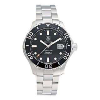 Tag Heuer Mens Calibre 5 Aquaracer Stainless Steel Automatic Watch