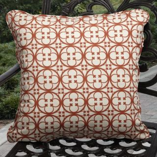 Ava Outdoor Terre Santa Fe Red Pillows (Set of 2)