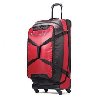 Samsonite Luggage Maneuver Spinner Duffel, Red/Black, 32