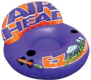 Kwik Tek Airhead EZ Rider Inflatable Pool Chair with Aqua