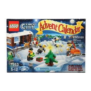 LEGO 7553 City Advent Calendar Toy Set