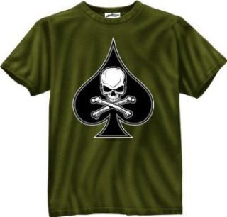 Olive Drab Death Spade Military T Shirt 80235 Size 3X