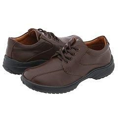 Minibel Kids Audi (Toddler/Youth) Brown Leather Oxfords