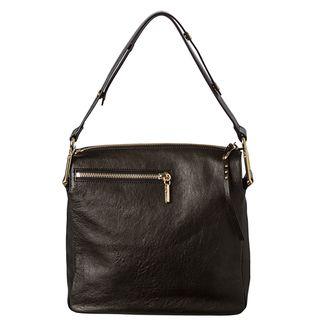 Chloe Vanessa Medium Black Leather Shoulder Bag