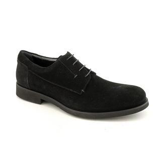 Calvin Klein Collection Mens 9011 Regular Suede Dress Shoes