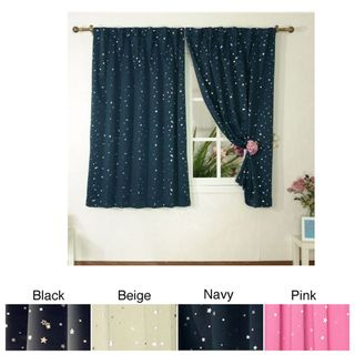 Star Struck Insulated Thermal Blackout 63 inch Curtain Pair