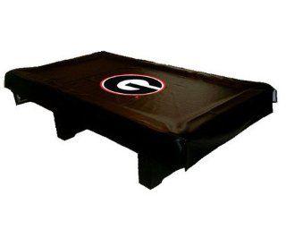 University of Georgia Bulldogs Pool Table Cover: Sports