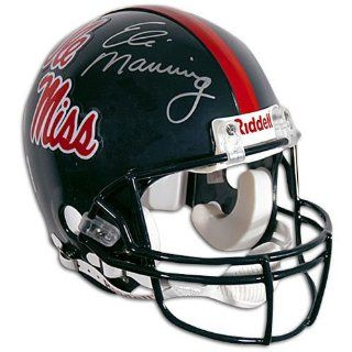 Giants Mounted Memories Eli Manning Ole Miss Pro Helmet