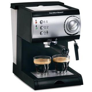 Hamilton Beach 40715 Espresso/ Cappuccino Maker (Refurbished