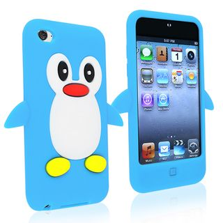 BasAcc Blue Silicone Skin Case for Apple® iPod Touch Generation 4