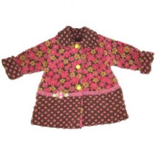 Corky & Company Sweet Pea Flores Pequena Coat Clothing