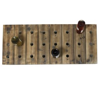 Casa Cortes 24 bottle Wood Wine Rack