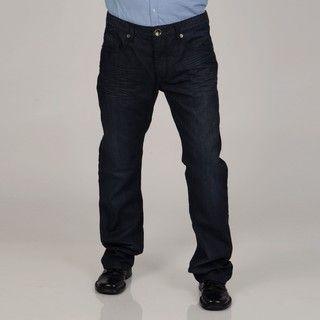 Seduka Jeans Mens Tribal Design Pocket Denim Jeans