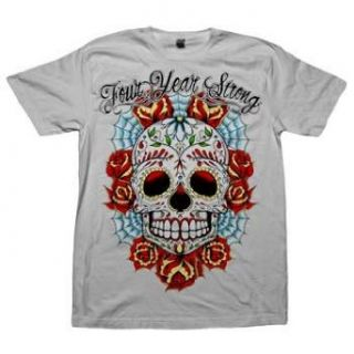 Four Year Strong   Sugar Skull   T Shirt Clothing