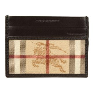 Burberry Check Card Case