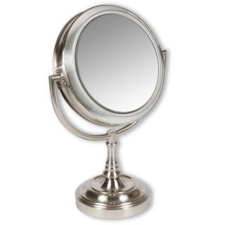 Rialto Lighted 10x/ 1x Two sided Vanity Mirror