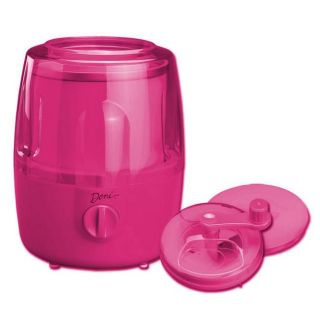 Deni Raspberry color Automatic Ice Cream Maker With Candy Crusher