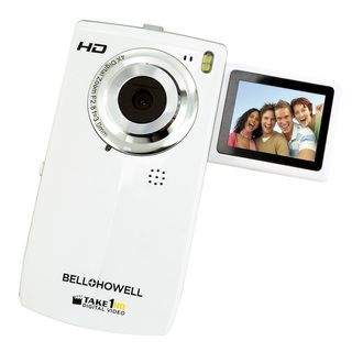 Bell+Howell Take1HD Flip Video Camcorder with 2GB SD Card (White