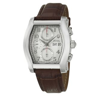 Bulova Accutron Mens Stratford Collection Automatic Chrono Watch