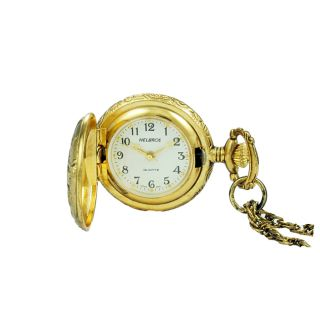 Helbros Womens Casual Stainless Steel Pocket Watch