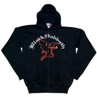 Black Sabbath   Flying Demon Zip Up Hoodie   X Large