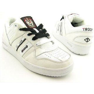 TROOP TF0801 Ice Lamb White Sneakers Shoes Mens Size 8: Shoes