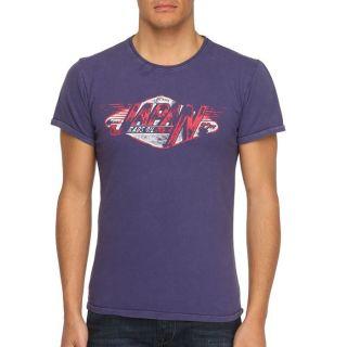 JAPAN RAGS T Shirt Rags82 Homme Violet   Achat / Vente T SHIRT JAPAN