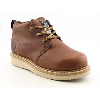 Georgia Mens GB1222 Chukka Wedge Brown Boots