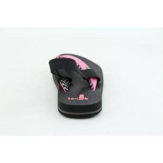Sanuk Youths Yoga Mat Kids Pink Sandals