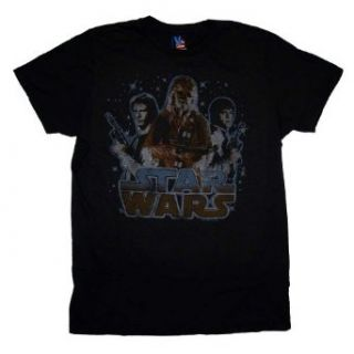 Star Wars Cast Junk Food Vintage Style Movie T Shirt Tee