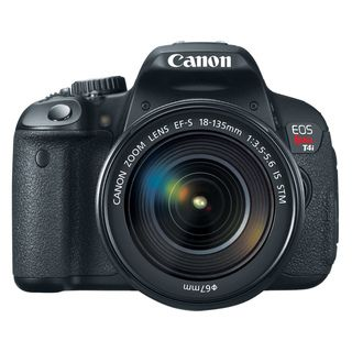 Canon EOS Rebel T4i 18MP CMOS Digital SLR Camera with EF S 18 135mm IS