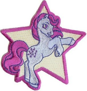 My Little Pony Iron On Embroidered Patch   3.5 Galloping
