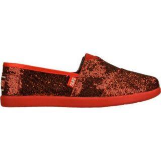 Girls Skechers BOBS World Red/Black