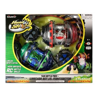 Silverlit Head Shotz Twin Remote Control Battle Pack