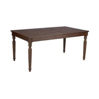 Smith and Hawken Marlton Outdoor Dining Table