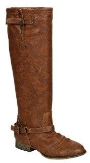 Outlaw 81, tan, womens back zipper riding boots, R3, size 6 Shoes