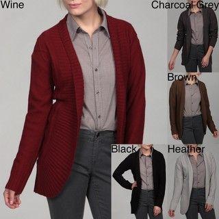 Jessi New York Womens Diamond Ribbed Sweater