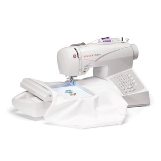 Singer CE 150 Embroidery and Sewing Machine (Refurbished)