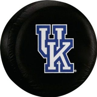 Kentucky Wildcats Standard Size Black Spare Tire Cover