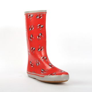 Georgia Bulldogs Womens Scattered Logo Rain Boots