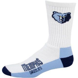 NBA Memphis Grizzlies Mens Crew Socks, Large Sports